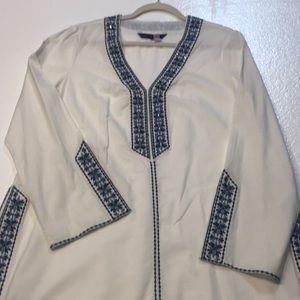White House Black Market tunic L